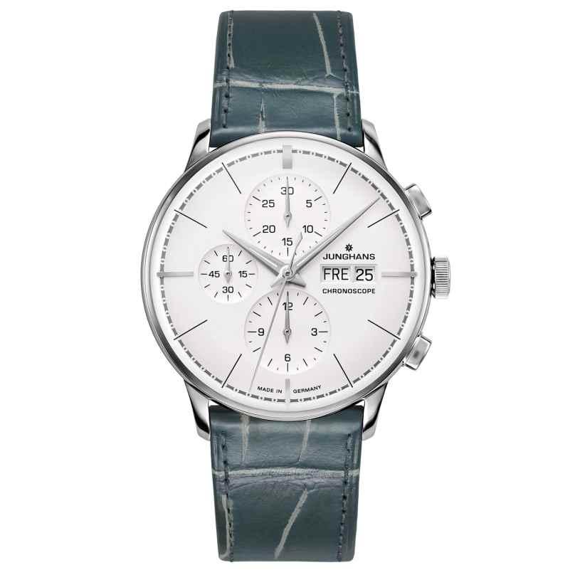 Junghans 027/4729.00 Men's Watch Meister Chronoscope Terrassenbau 4000897391140