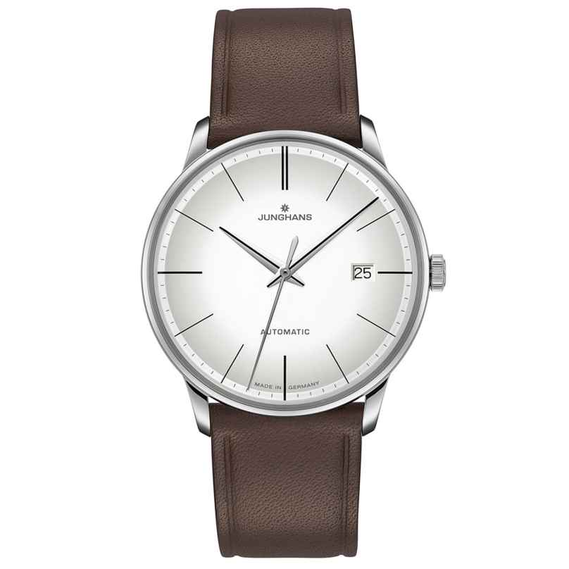 Junghans 027/4050.00 Men's Watch Meister Automatic Brown Leather Strap 4000897392963