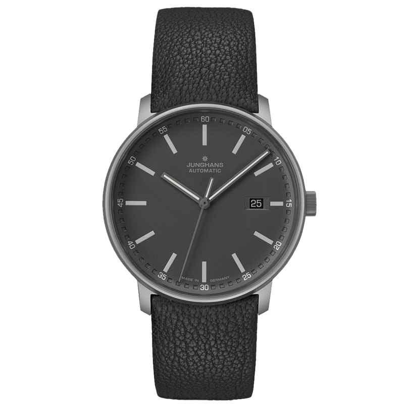Junghans 027/2001.00 Automatic Wristwatch Form A Titanium 4000897392765