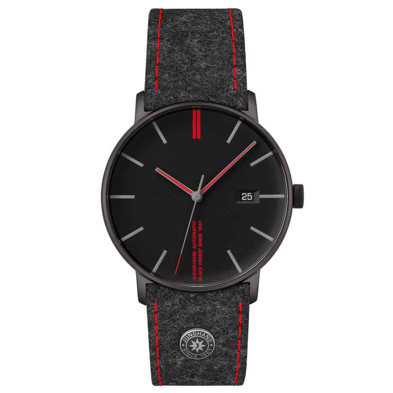 Junghans 027/4131.00 Herrenuhr Form A Edition 160 4000897393793