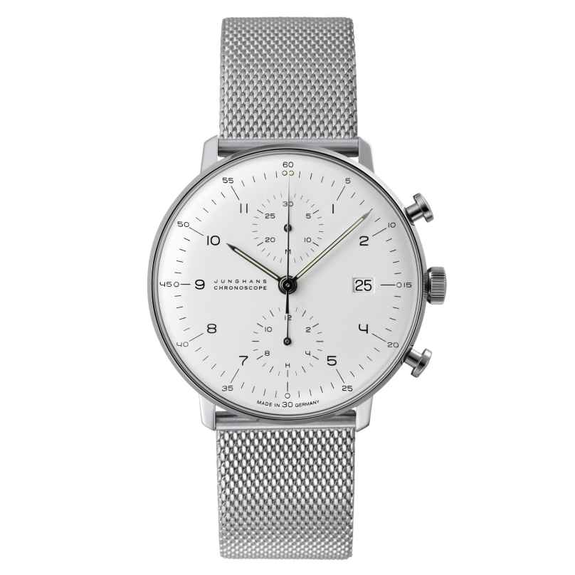Junghans 027/4003.44 max bill Chronoscope Gents Watch 4000897387266