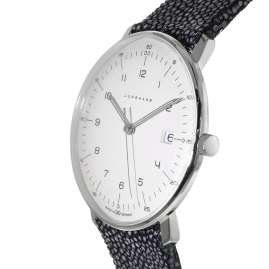 Junghans 041/446-Rochen max bill Quartz Men's Watch with 2 Leather Straps