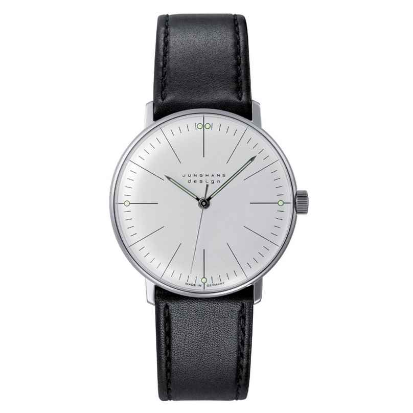 Junghans 027/3700.04 max bill Handaufzug Armbanduhr 4000897392017