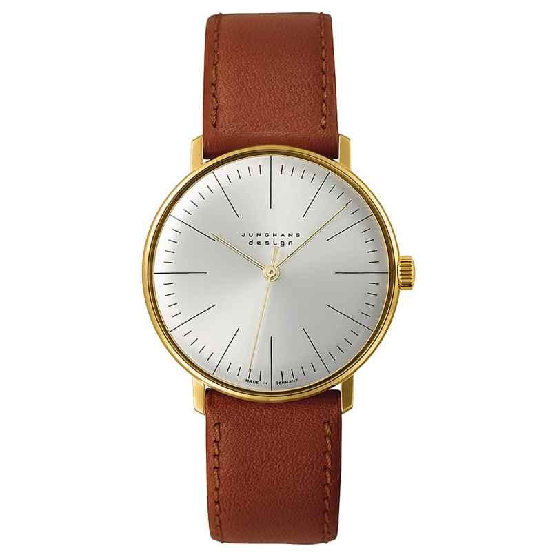 Junghans 027/5703.04 max bill Handaufzug Armbanduhr 4000897392154