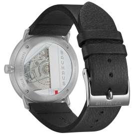 Junghans 027/4009.02 max bill Automatikuhr Automatic Bauhaus Lederband Schwarz