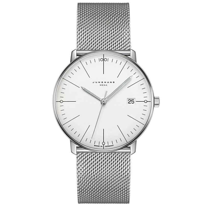 Junghans 058/4821.46 max bill Men's Watch Mega Sapphire Crystal 4000897393878
