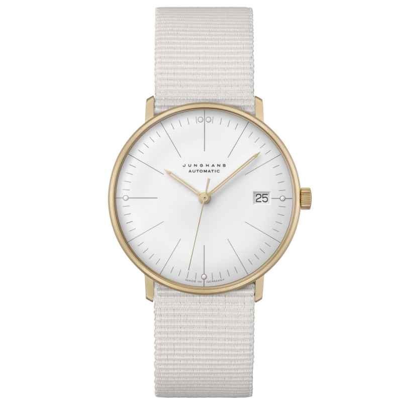 Junghans 027/7006.02 max bill Armbanduhr Kleine Automatik mit Saphirglas 4000897393939