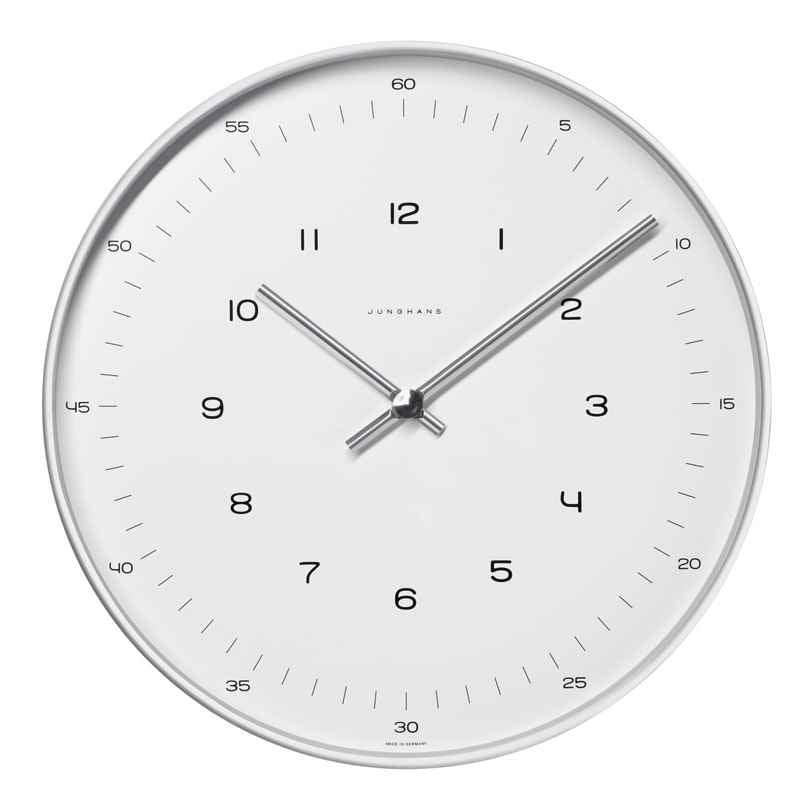 Junghans 374/7003.00 max bill Radio-Controlled Wall Clock 4000897387280