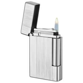S.T. Dupont 020804B Lighter Initial Double Flame Brushed