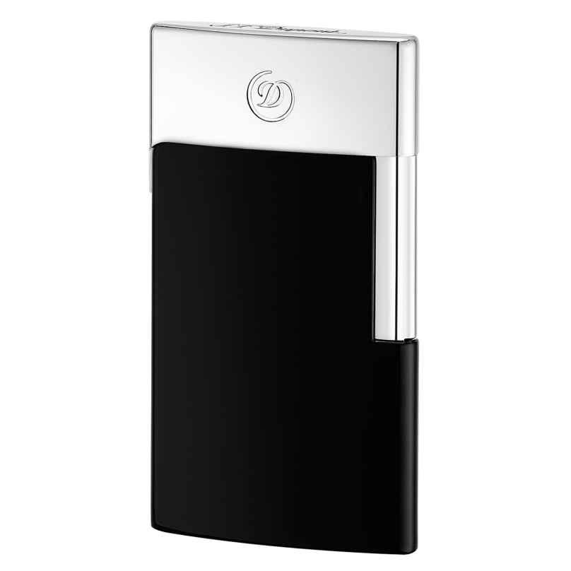 S.T. Dupont 027004E Electric Lighter E-Slim Black 3597390244192