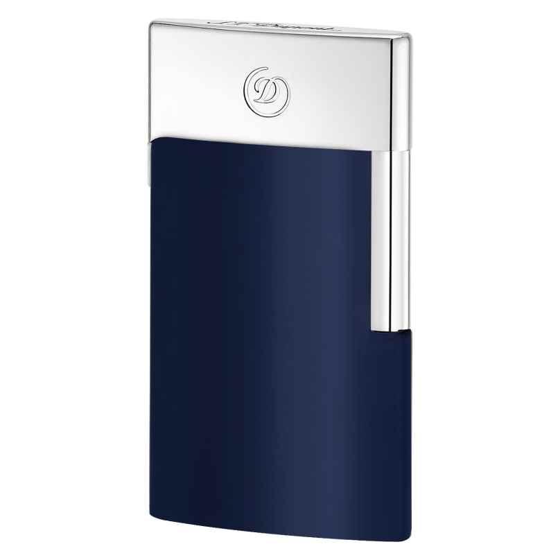 S.T. Dupont 027008E Elektrisches Feuerzeug E-Slim Blau 3597390247773