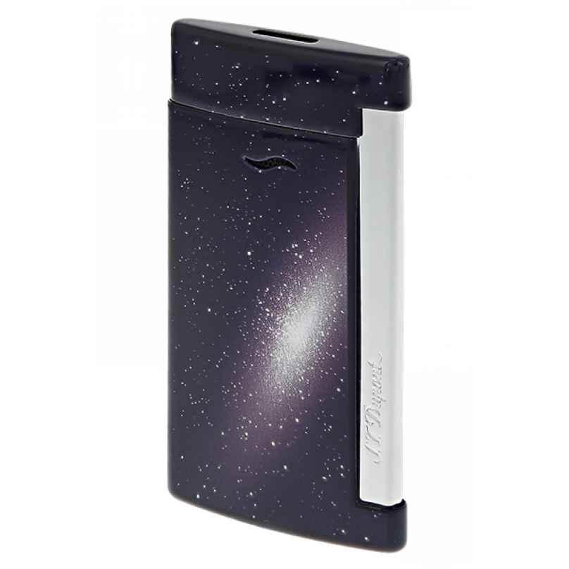 S.T. Dupont 027219 Feuerzeug Slim 7 Space Blau 3597390271099