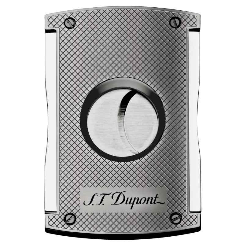 S.T. Dupont 003257 maxiJet Zigarrenschneider Chrom Diamantschliff 3597390212337