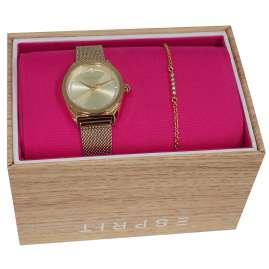 Esprit ES1L100M0065 Damenuhr-Set mit Armband Slice Dot