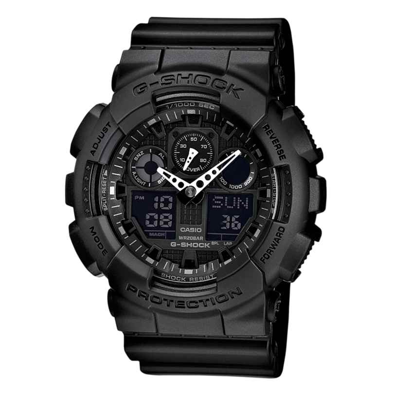 Casio GA-100-1A1ER G-Shock Herrenuhr 4971850443865