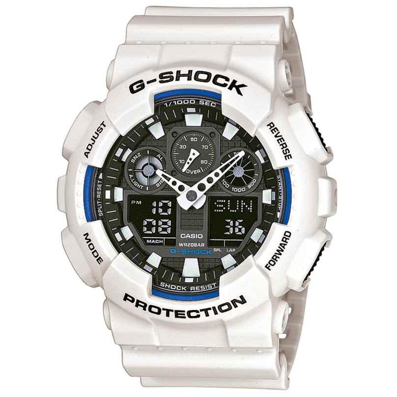 Casio GA-100B-7AER G-Shock AnaDigi Watch 4971850948377