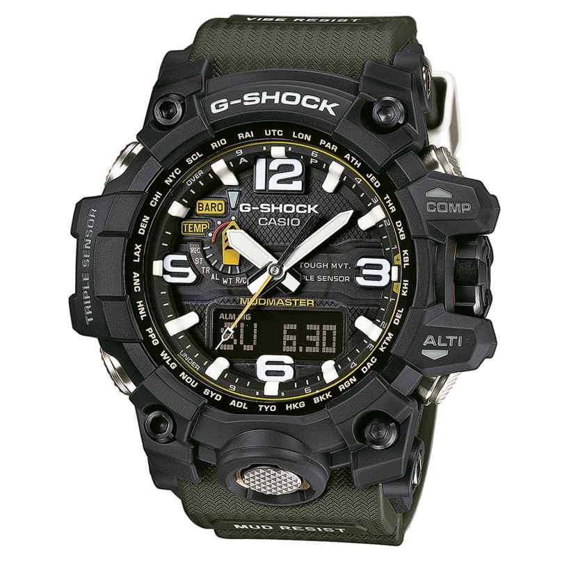 Casio GWG-1000-1A3ER G-Shock Mudmaster Watch 4971850028345