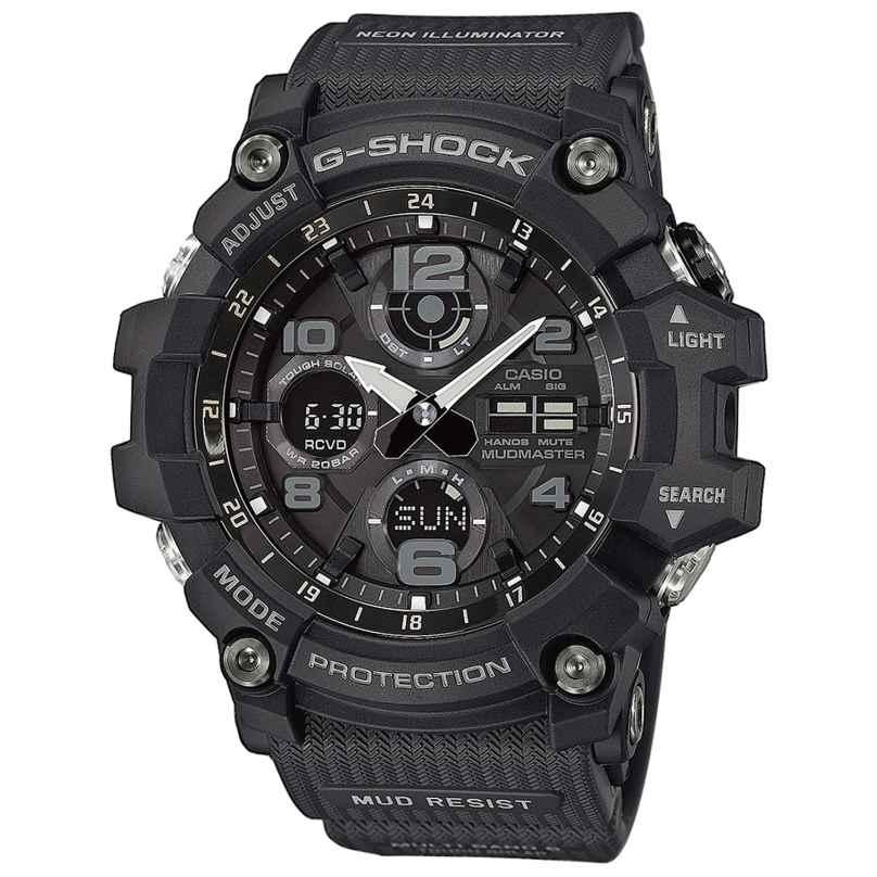 Casio GWG-100-1AER G-Shock Mudmaster Radio-Controlled Solar Watch 4549526176586