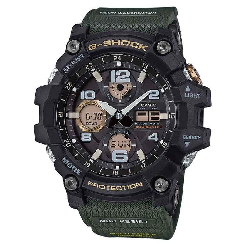 Casio GWG-100-1A3ER G-Shock Mudmaster RC Solar Mens Watch 4549526176500