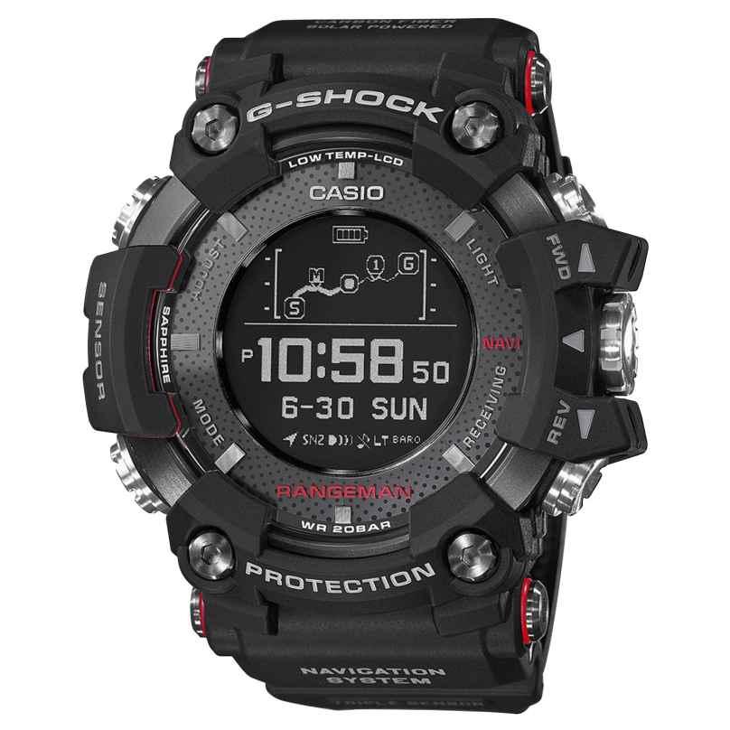 Casio GPR-B1000-1ER G-Shock Rangeman Mens Watch Bluetooth GPS Navigation 4549526185816