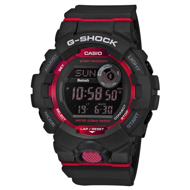 Casio GBD-800-1ER G-Shock G-Squad Bluetooth Men's Watch with Step Tracker 4549526202186