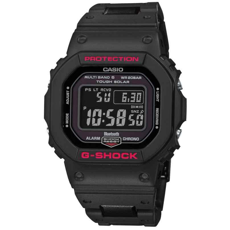 Casio GW-B5600HR-1ER G-Shock Digitale Funk-Solar-Herrenuhr 4549526213885