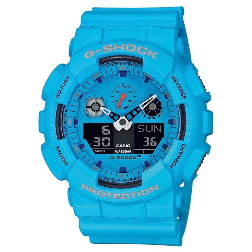 Casio GA-100RS-2AER G-Shock Herren-Armbanduhr 4549526223167