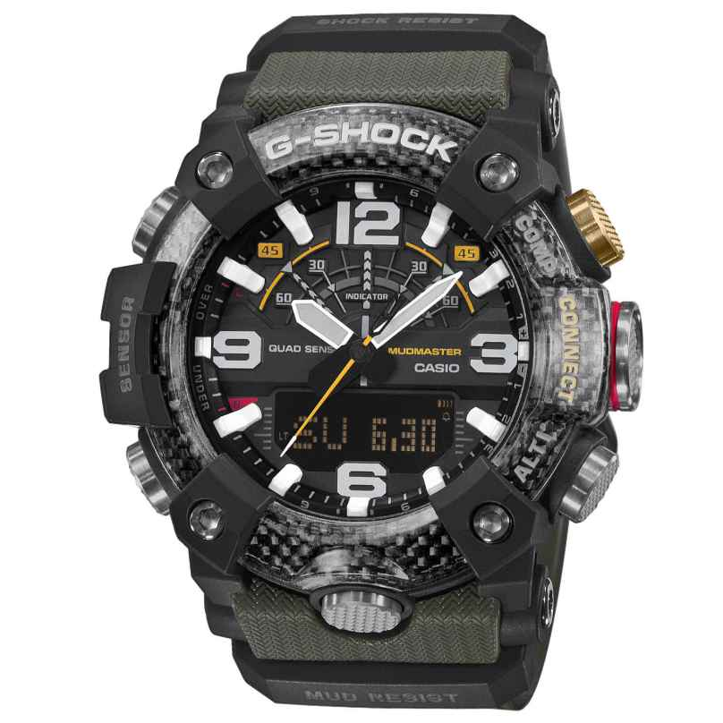 Casio GG-B100-1A3ER G-Shock Master of G Mudmaster Bluetooth Herrenuhr 4549526235405