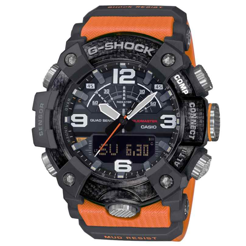 Casio GG-B100-1A9ER G-Shock Master of G Mudmaster Bluetooth Herrenuhr 4549526235450