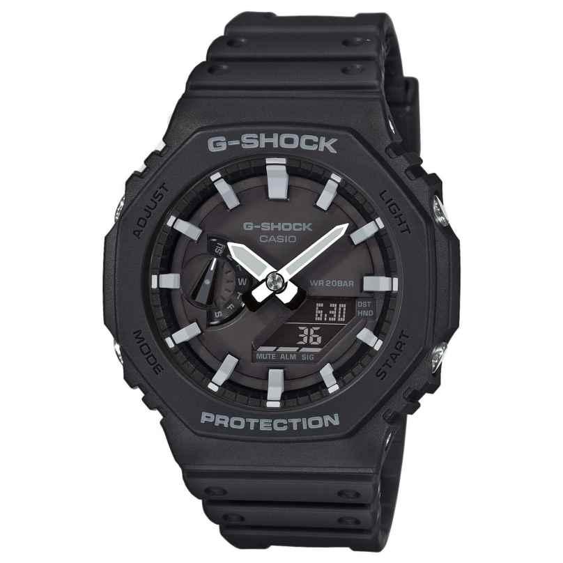 Casio GA-2100-1AER G-Shock Ana-Digi Herrenuhr Schwarz 4549526241703