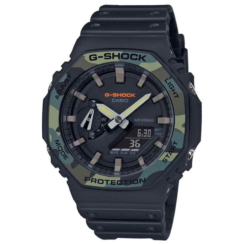 Casio GA-2100SU-1AER G-Shock Ana-Digi Herrenuhr Camouflage 4549526259036