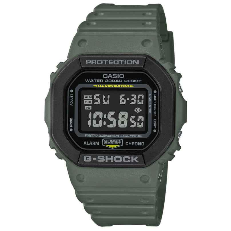 Casio DW-5610SU-3ER G-Shock The Origin Digitaluhr Olivgrün 4549526257551