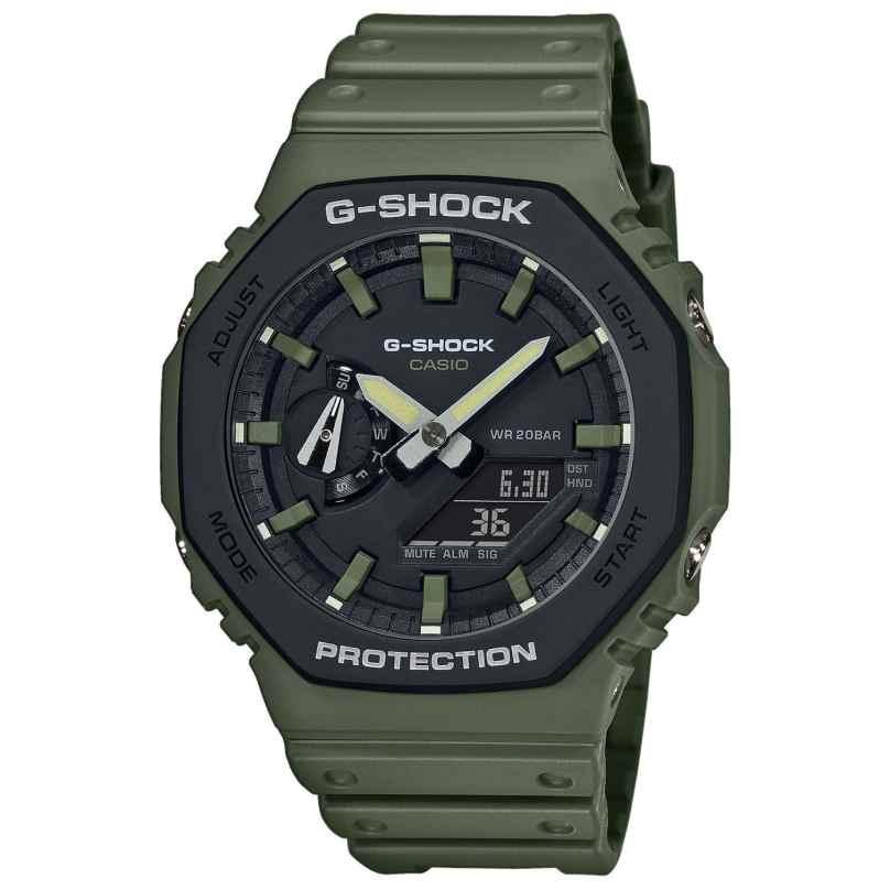 Casio GA-2110SU-3AER G-Shock Classic Ana-Digi Herrenuhr Olivgrün 4549526259081
