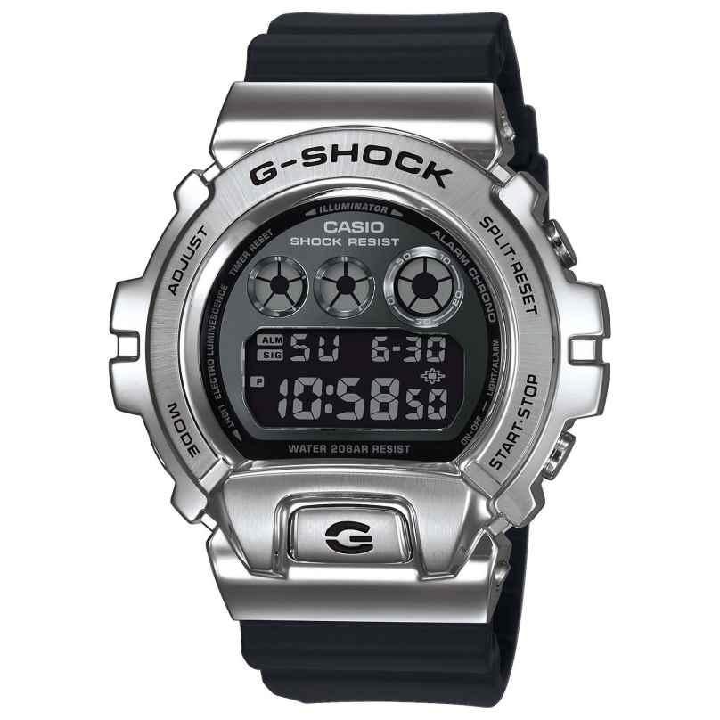 Casio GM-6900-1ER G-Shock Classic Digital Men's Watch Silver/Black 4549526252150