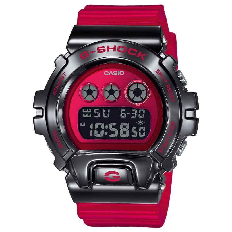 Casio GM-6900B-4ER G-Shock Classic Herren-Digitaluhr Rot/Schwarz 4549526251306