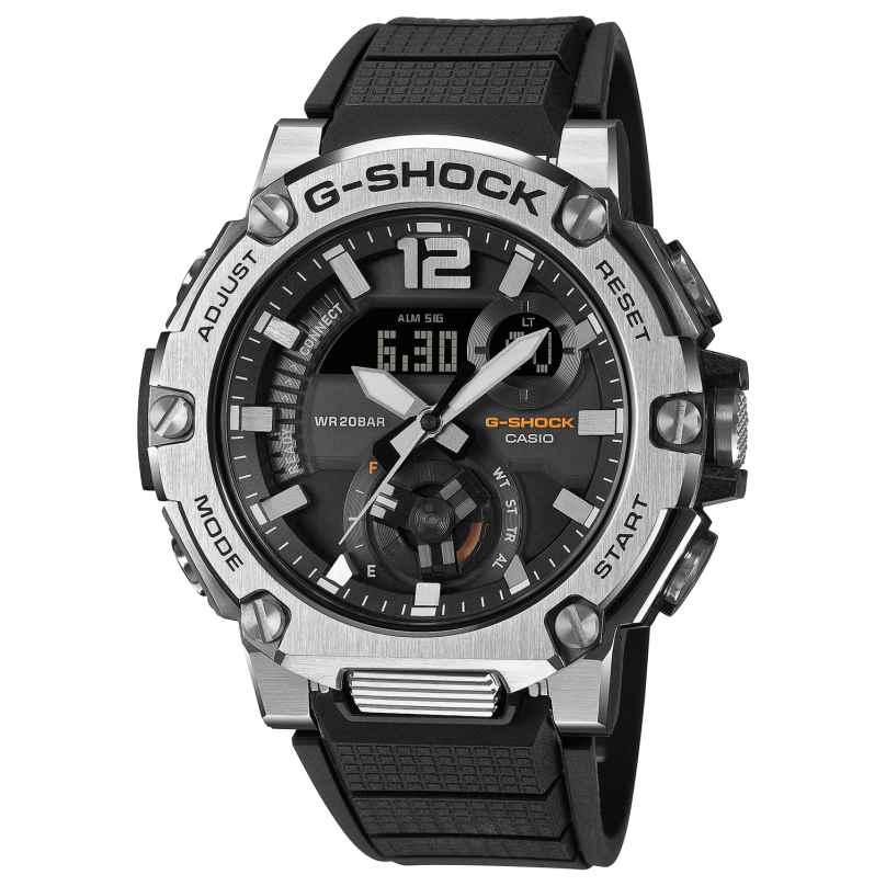 Casio GST-B300S-1AER G-Shock G-Steel Solar Herrenuhr Schwarz 4549526272196