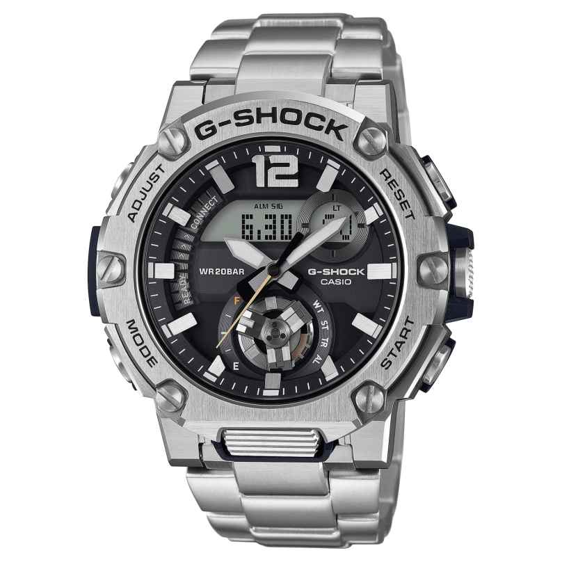 Casio GST-B300SD-1AER G-Shock G-Steel Solar Herrenuhr mit Blueetooth 4549526272240