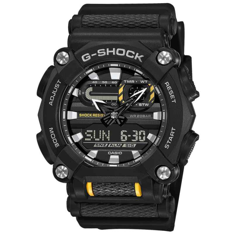 Casio GA-900-1AER G-Shock Men's Wristwatch Black 4549526274305