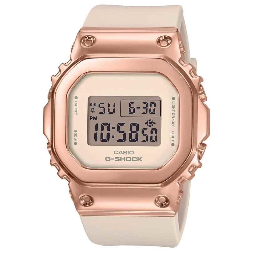 Casio GM-S5600PG-4ER G-Shock Damen-Digitaluhr nude/roségold 4549526273476