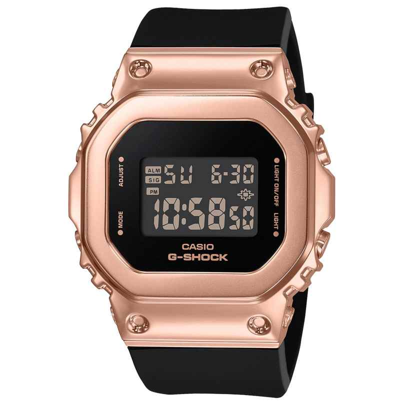 Casio GM-S5600PG-1ER G-Shock Digital Ladies' Watch Black 4549526273421
