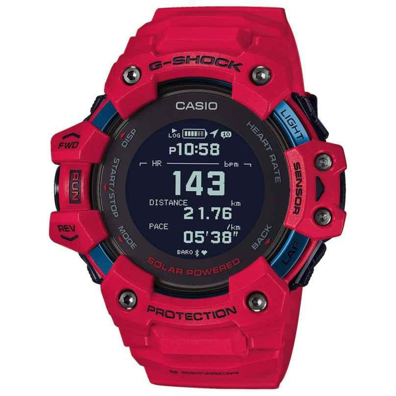 Casio GBD-H1000-4ER G-Shock Bluetooth Smartwatch Herrenuhr Rot 4549526257759
