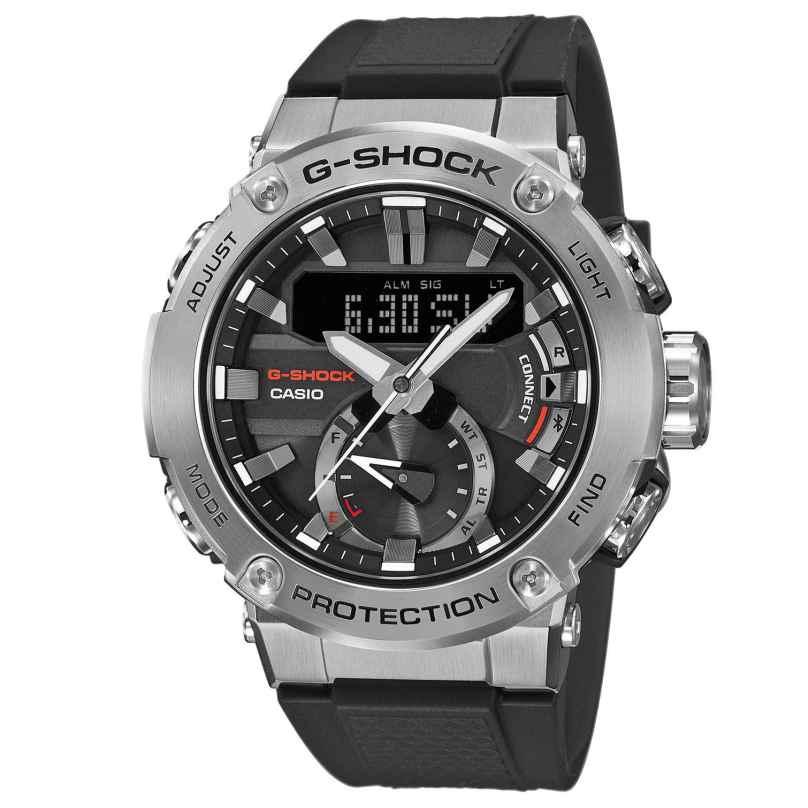 Casio GST-B200-1AER G-Shock G-Steel Solar Herrenuhr mit Bluetooth 4549526223013