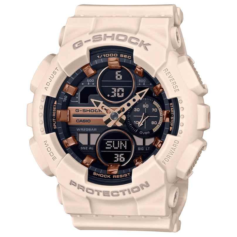 Casio GMA-S140M-4AER G-Shock Ladies' Digital Watch Beige 4549526279782