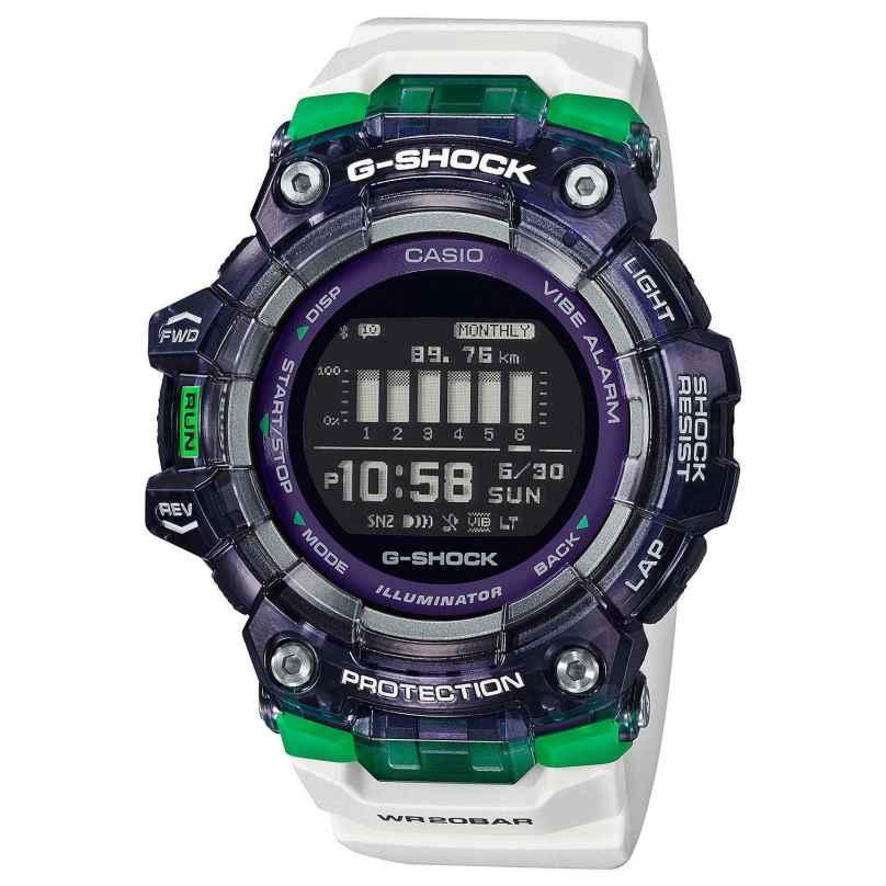 Casio GBD-100SM-1A7ER G-Shock G-Squad Digital Watch Bluetooth White/Black 4549526297120