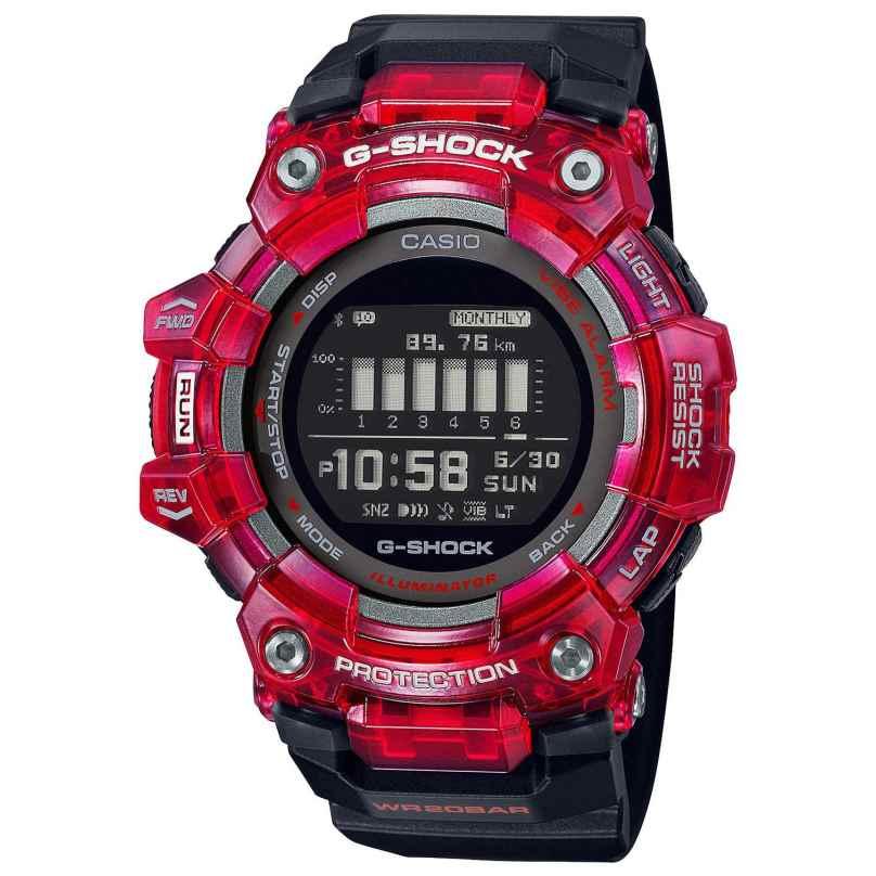 Casio GBD-100SM-4A1ER G-Shock G-Squad Digital Watch Bluetooth Black/Red 4549526297229