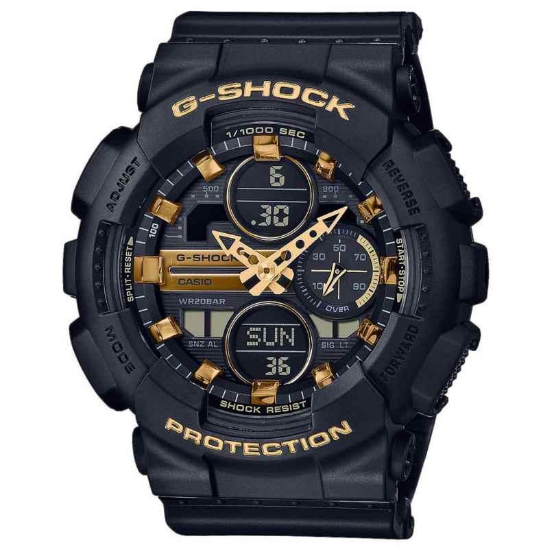 Casio GMA-S140M-1AER G-Shock Woman Classic Damen-Digitaluhr Schwarz 4549526279737