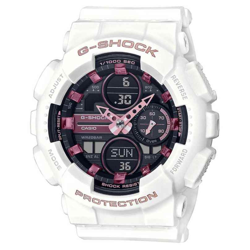 Casio GMA-S140M-7AER G-Shock Woman Classic Damen-Digitaluhr Weiß 4549526279836
