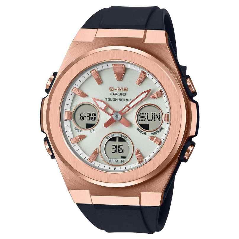 Casio MSG-S600G-1AER G-Shock Damen-Solaruhr Schwarz/Roségoldfarben 4549526297786