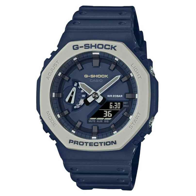 Casio GA-2110ET-2AER G-Shock Classic Ana-Digi Herrenuhr Dunkelblau/Grau 4549526293535