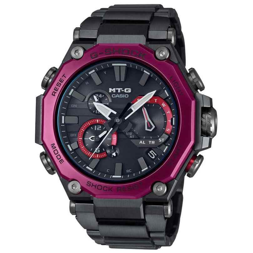 Casio MTG-B2000BD-1A4ER G-Shock MT-G Funk-Solar Herrenuhr Schwarz/Rot 4549526289255